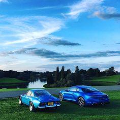Deux Alpine A110, deux générations ! www.alpineplanet.com ___________________________________________________ #Alpine #A110 #alpinea110 #product #cars #sportcars #sportcar #dieppe #jeanredele #jeanrédélé #madeinfrance #scoop #instacar #instacars...