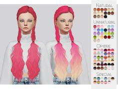 Kalewa-a's Hair Retexture 03 - LeahLillith's Alessia - Mesh needed