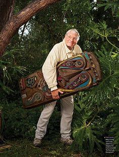 Roly Crump Imagineer and creator of Walt Disney's Enchanted Tiki Room.