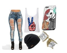 """""""Untitled #72"""" by steamynightmare on Polyvore featuring Coal"""
