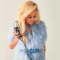 Rita Ora, behind the scenes of the Voice