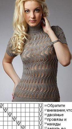 Knitting Patterns, Knit Crochet, High Neck Dress, Charts, Knot, Hair, Inspiration, Dresses, Women