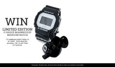 Win a Limited Edition G-Shock Bearbrick Watch G Shock Watches, Casio G Shock, Amazing Watches, Cool Watches, Competition Time, Luxe Life, Cool Gear, Jewellery, Cool Stuff