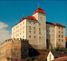 Gothic castle of Mladá Boleslav (Central Bohemia), Czechia