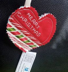 I found this quilted Christmas heart at Santa Clarita Methodist Church on Christmas eve, 2016. It put a smile of wonder on my children's face. Thank you! I feel blessed. #ifaqh #ifoundaquiltedheart