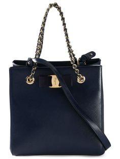 SALVATORE FERRAGAMO 'Vany' Tote. #salvatoreferragamo #bags #shoulder bags #hand bags #leather #tote #