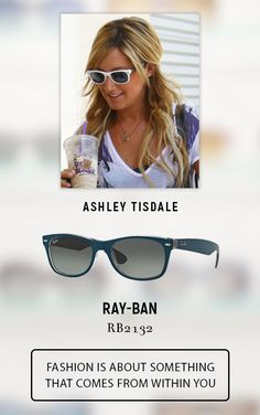 19b641a31388  Ashley  Tisdale wearing  Rayban  Sunglasses.Get the  Celebrity Look   eyeglasses123.com