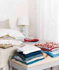 The best ways to store out-of-season clothes.