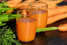 Recept na mrkvovou šťávu, která vám pomůže odstranit přebytečný hlen z plic