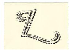 © Mary Kate McDevitt 2011  Day 89 • L • Handwritten Letters
