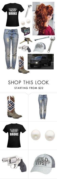 """Messin' With The Truck"" by emmylou055 ❤ liked on Polyvore featuring Anine Bing, Diesel, Reeds Jewelers, Avon and O'Neill"