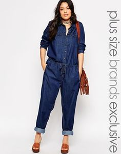 5aa7207f07e2 Asos Denim Boilersuit I don t like how this was styled for the model but