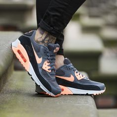 Shop Nike AIR MAX 90 LTR (GS) Free Shipping Today