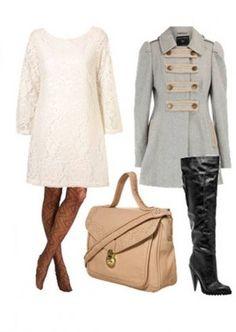 Outfit formal, encuentra más estilos aquí... http://www.1001consejos.com/outfits-para-el-invierno/