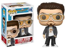 Spider-Man Tony Stark Pop! Vinyl Figure