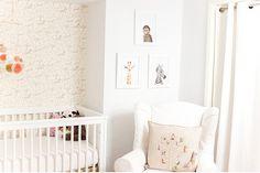 Neutral Nursery Trifecta: Safari (Taupe), Animal Print Shop prints and a Coral & Tusk throw pillow!