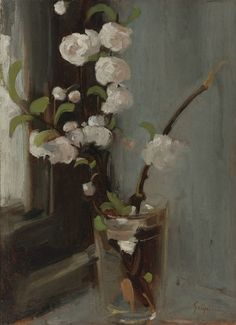 Felix Pissarro: Camille Pissarro --my favorite. Camille Pissarro, Painting Still Life, Still Life Art, Rose Oil Painting, Painting & Drawing, Art Floral, Paul Cézanne, Still Life Flowers, Post Impressionism
