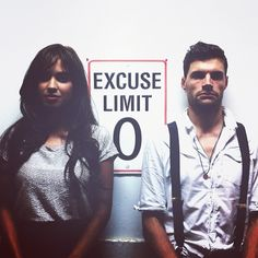 Moriah Peters and Joel Smallbone have no room for excuses