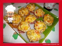 Cocina con Paco: Magdalenas saladas de patatas y beicon Eggs, Muffins, Breakfast, Food, Potatoes, Dinner Rolls, Appetizers, Desserts, Morning Coffee