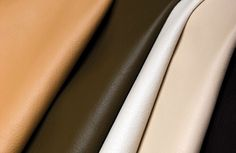 Cortina's 100% biodegradable cowhide imported from Italy. Ecco-La - chrome-free