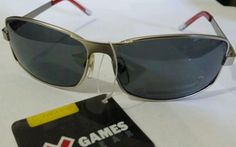 X games style science silver metal 100 % UVA & UVB Sunglasses