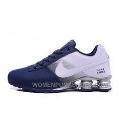 772d8fea5f8557 NIKE SHOX DELIVER 809 NAVY BLUE WHITE Super Deals BbBhK
