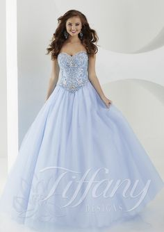 House of Wu 46040 size 14 in blue and similar 46038 size 16 in blue