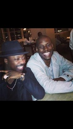 Anthony Hamilton and Tyress
