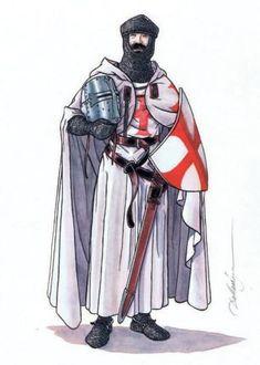"""Chevalier Croisé"", Patrick Dallanegra"