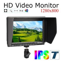 165.70$  Buy now - http://alipf8.shopchina.info/go.php?t=32268398244 - Free Shipping!Quality Feelworld FW759 DV Camera On Field Monitor 7'' Slim HD IPS 1280x800 HDMI 1080p Parking Filter Wire Control 165.70$ #aliexpresschina