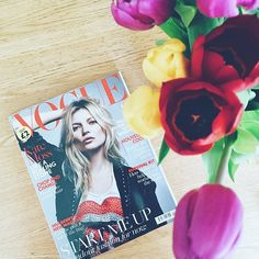 Kate Moss on the cover of @britishvogue... Toolally inside! Pick up this month's copy to see our feature in the Jewellery Designer Profile.