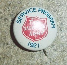 1921 Salvation Army Pin
