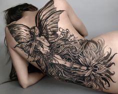 Massive and beautiful back piece