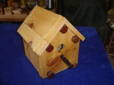 big knobs birdhouse