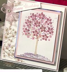 2018 Chloes Creative Cards, Stamps By Chloe, Crafters Companion, Cherry Blossoms, Making Ideas, Handmade Cards, Cardmaking, Card Ideas, Projects To Try