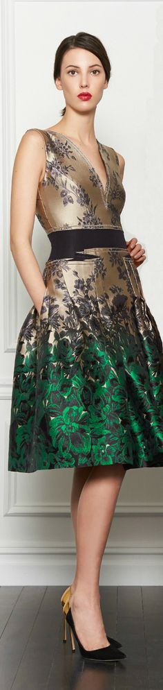 Carolina Herrera  ● Fall 2013 ● Cocktail Dress