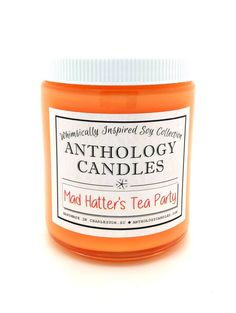 Hey, I found this really awesome Etsy listing at https://www.etsy.com/listing/246942547/mad-hatters-tea-party-candle-anthology