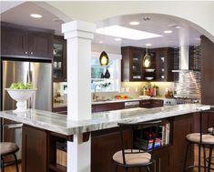 Best images open galley kitchen designs #Galley Open Concept Kitchen Ideas & Designs #kitchen design