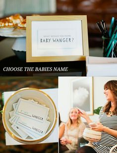 8 modern baby shower games and activities - choose the baby name #babyshower #babyshowergames #babyshoweractivities