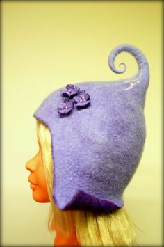 Good mood hats for gnomes/ Etsy. I'D WEAR THIS!!!