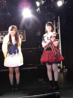 左から イチサキミキさん[https://twitter.com/iii_micky] 上月せれなさん[https://twitter.com/serena_kozuki]