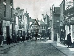 Millgate, Wigan in the Local History, History Facts, Old Pictures, Old Photos, British Isles, Vintage Postcards, North West, Wonderful Places, The Past