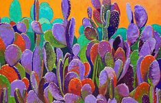 cactus painting - Google Search