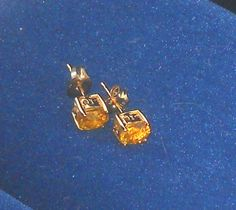 14k yellow gold yellow sapphire earrings 99 cents no reserve auction on Ebay  http://www.ebay.com/itm/221294926059?ssPageName=STRK:MESELX:IT&_trksid=p3984.m1558.l2649