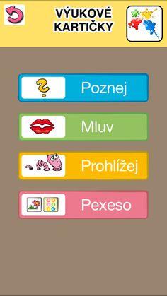 České výukové kartičky by pmq-software.com