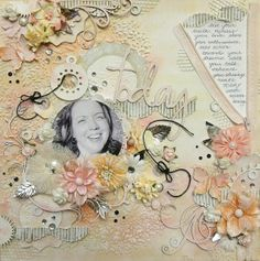Scrap Around The World: Challenge 4 Winners, Features & Honourable Mentions! {August 2013} #texture #scrapbooking #layering