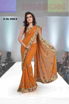 sari: love this color