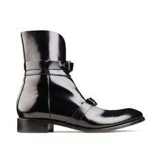 Petra Black patent shoe by Acne Studios