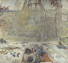 Pierre Bonnard, En barque, 1907. Paris, musée d'Orsay.
