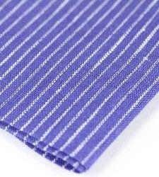 Linen white blue napkins